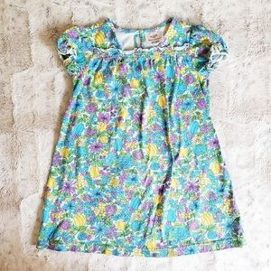 Hanna Andersson Floral Cotton Dress | 110